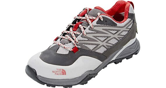 The North Face Hedgehog Hike GTX Shoes Women dark gull grey/tomato red
